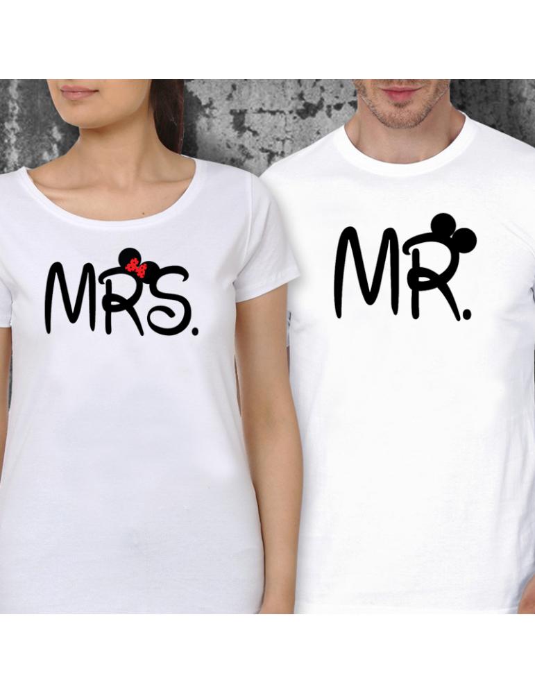 fc94ed9f37d6 Párová trička - Mr. and Mrs.